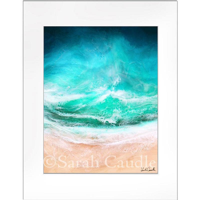【Sarah Caudleアート】Strength of the Sea(Sサイズ)