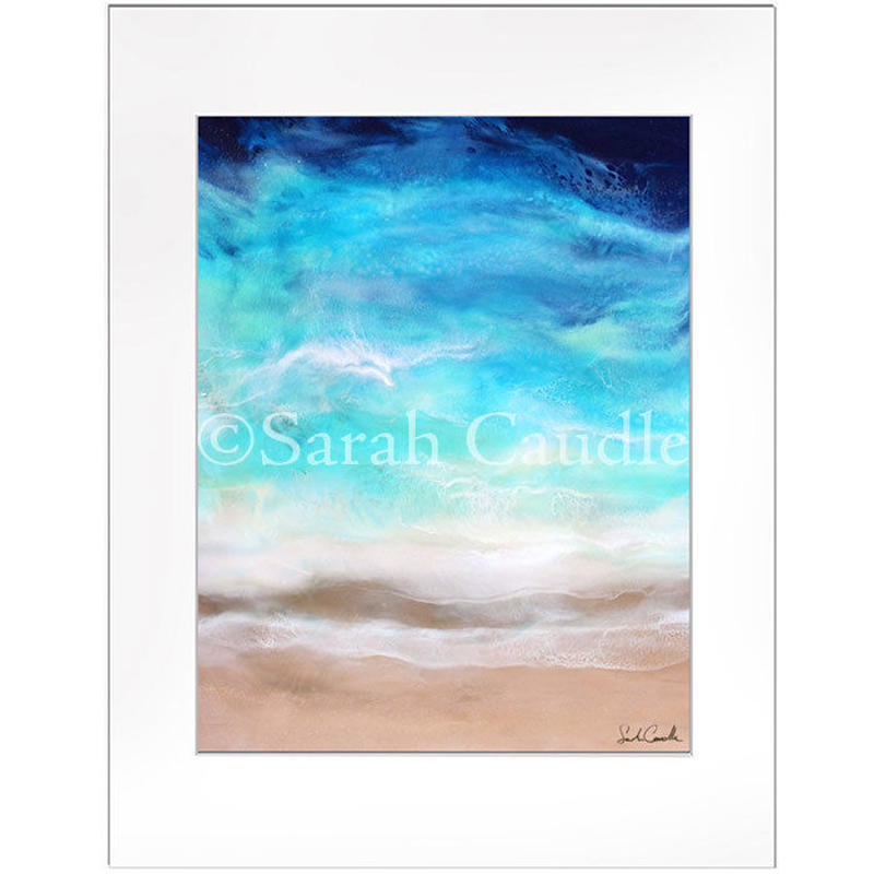 【Sarah Caudleアート】Shades of Blue(Mサイズ)