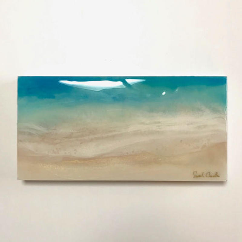 【Sarah Caudleアート】Peaceful Sea 5(原画)直筆サイン入り