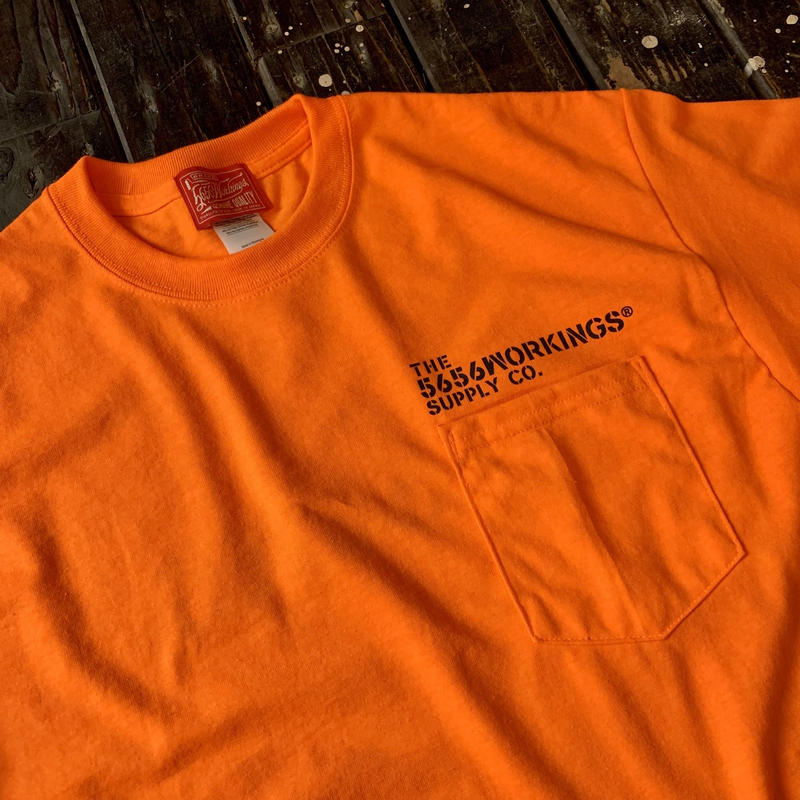 5656WORKINGS/CWS S/S UNIFORM_ORANGE