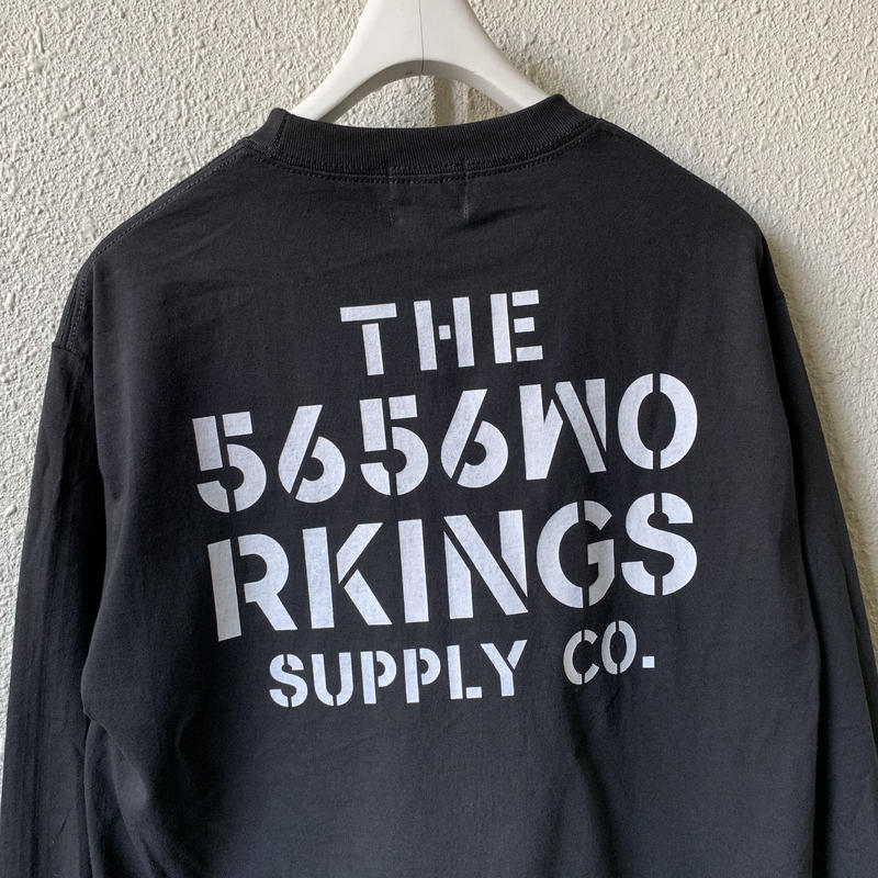 5656WORKINGS/DDW L/S UNIFORM_BLACK