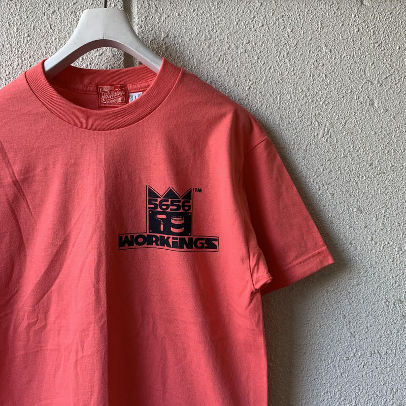 5656WORKINGS/KING TEE_SALMON PINK