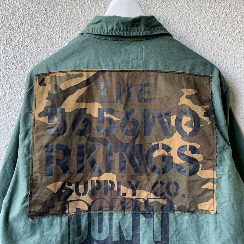 5656WORKINGS/NO.56 TEAM CUSTOM FIELD JKT