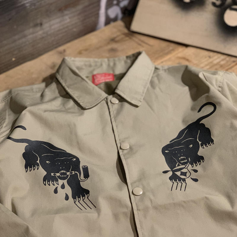 5656WORKINGS/BLK PANTHER PARTY JKT