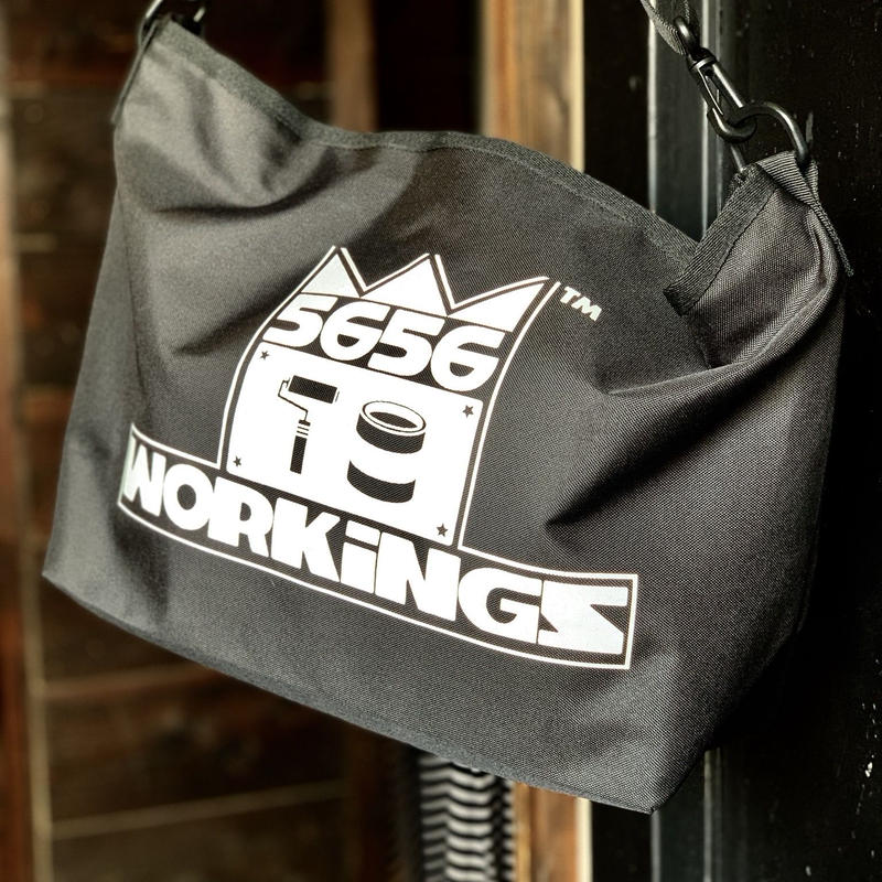 5656WORKINGS/KINGS NYLON SHOULDER BAG
