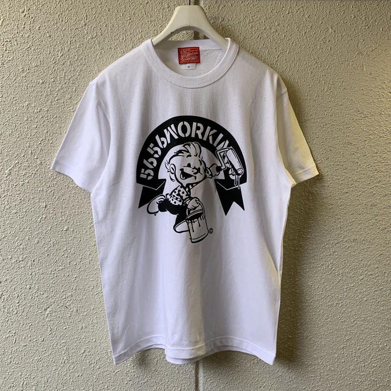 5656WORKINGS/5656BOY 20th ANNIVer. TEE_WHITE