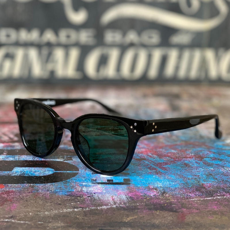 5656WORKINGS/PYN SUNGLASSES_BLACKxGREEN