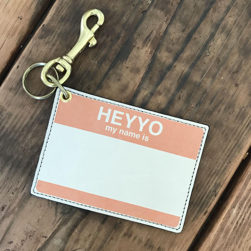 DFA/HEYYO! CARD CASE_ORANGE