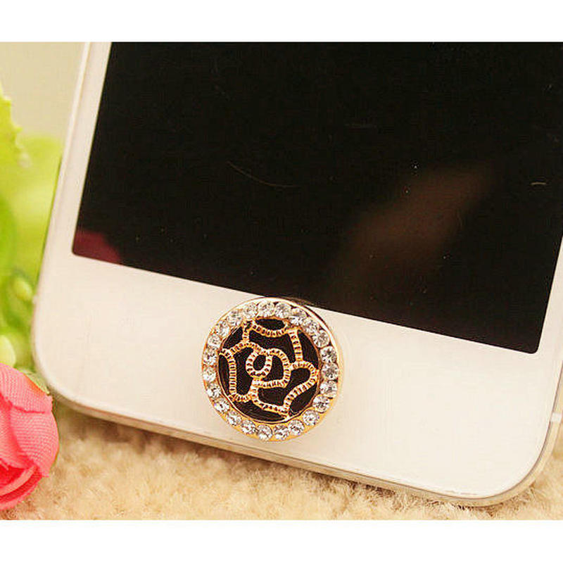[KK047]iPhone/iPadホームボタン モードなバラの花