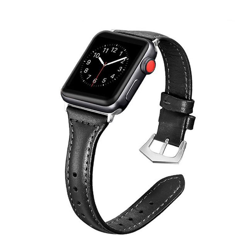 [NW592] ★Apple Watch belt 38mm/42mm ★ アップルウォッチ 替えベルト バンド 本革 スリム デザイン カラーバリエーション