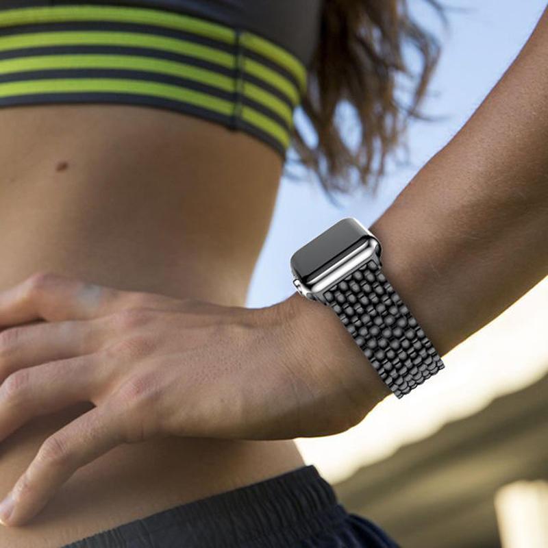 [NW584] ★Apple Watch belt 38mm/42mm ★ アップルウォッチ 替えベルト バンド ビジネス スタイル ステンレス メタル