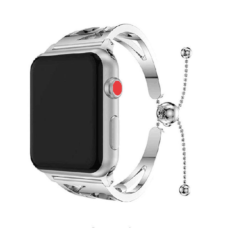 [NW595] ★Apple Watch belt 38mm/42mm ★ アップルウォッチ 替えベルト バンド 高級 ブレスレットタイプ ステンレス