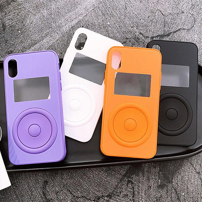 [NW568] ★ iPhone 6 / 6s / 6Plus / 6sPlus / 7 / 7Plus  / 8 / 8Plus / X ★ シェルカバー ケース 窓 ウィンドウ付き シンプル