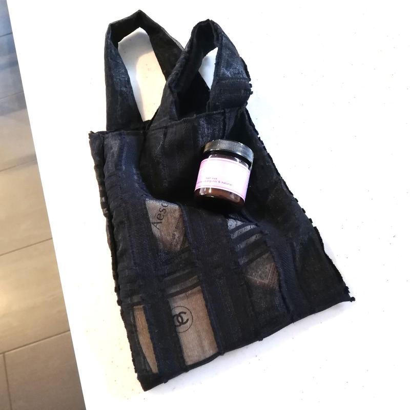 Black  lace mini bag