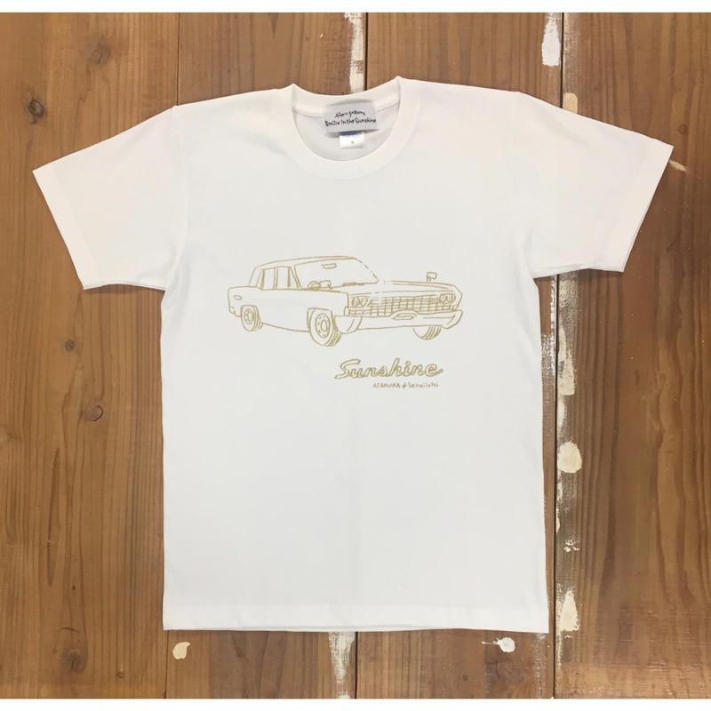 Sunshine S/S T shirts   WHT ( イラスト 朝倉世界一)