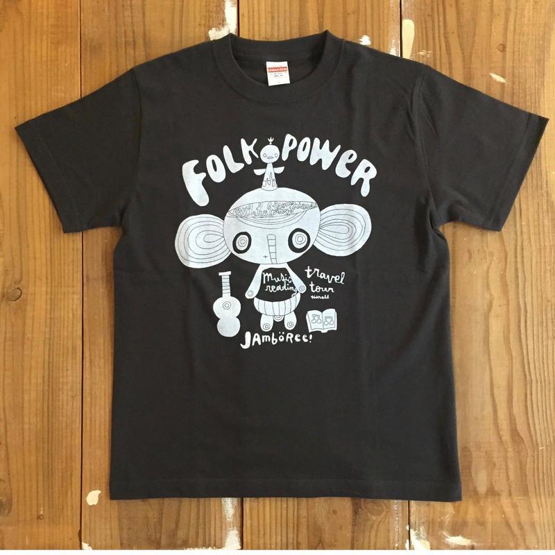 フォークパワージャンボリー@和歌山&大阪 ツアーTシャツ  SUMIIRO
