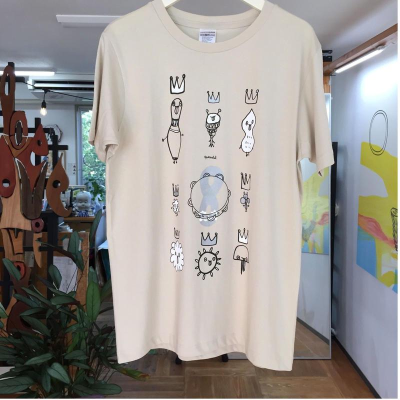 Anzai Hajime Calendar 2018  Tshirt AUGUST