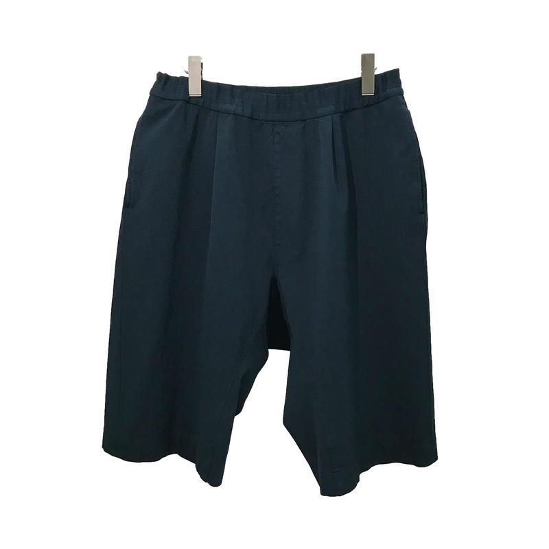 Men's ショートパンツ ハードスムース製品染(SK-P050-900)