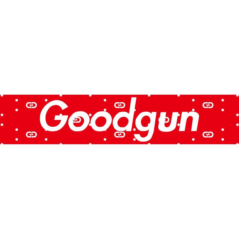 GoodGunステッカー 文字モノグラムタイプ