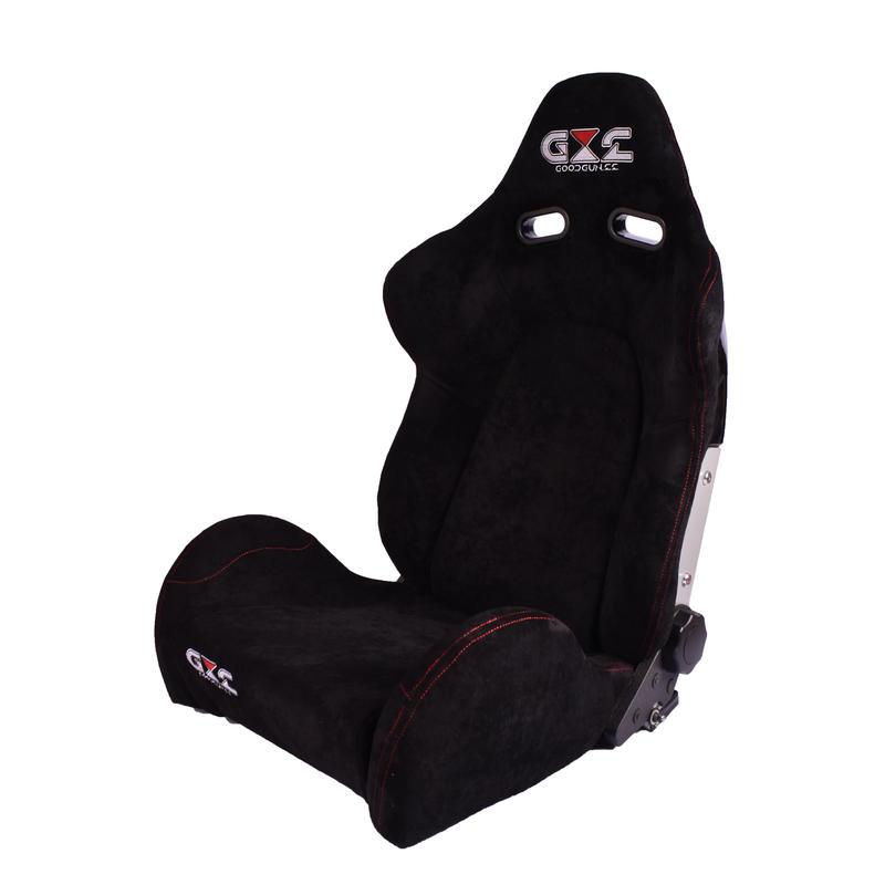 GoodGunオリジナル アルカンターラ調 セミバケットシート カラー:ブラック