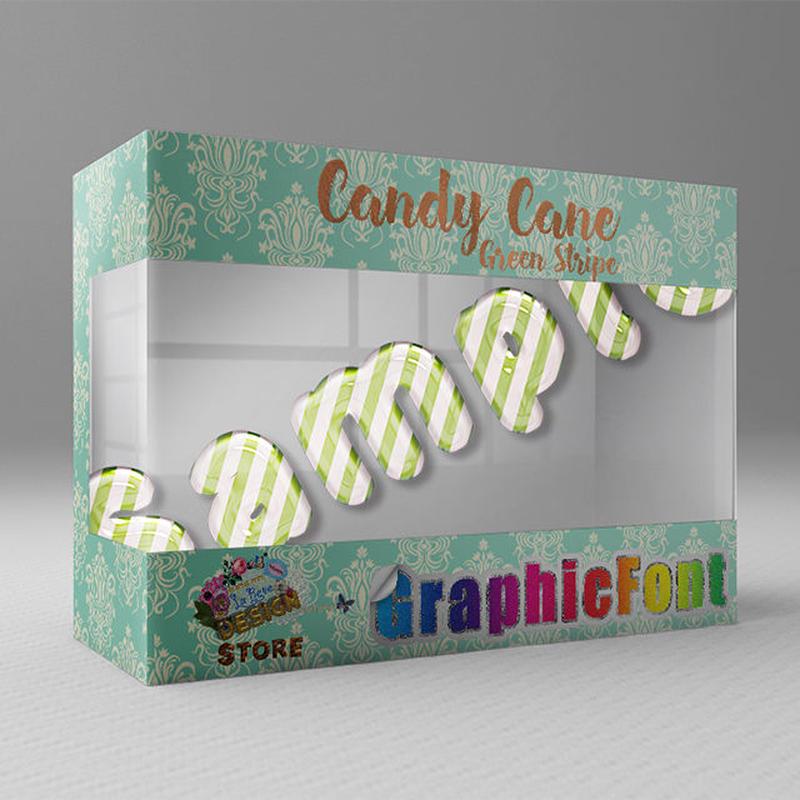 Candy Cane(Green Stripe)