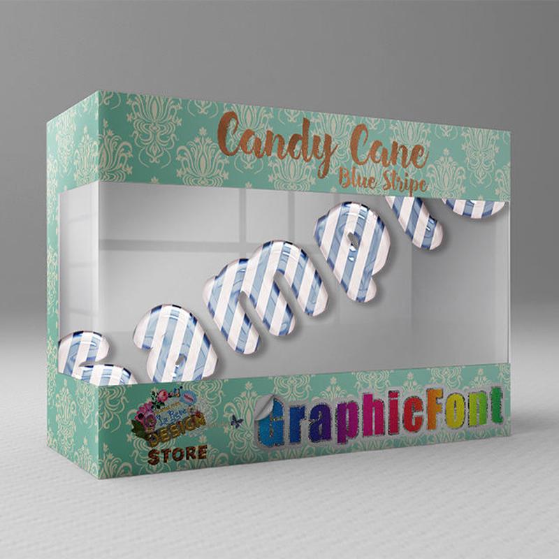 Candy Cane(Blue Stripe)