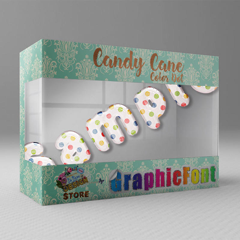 Candy Cane(Color Dot)