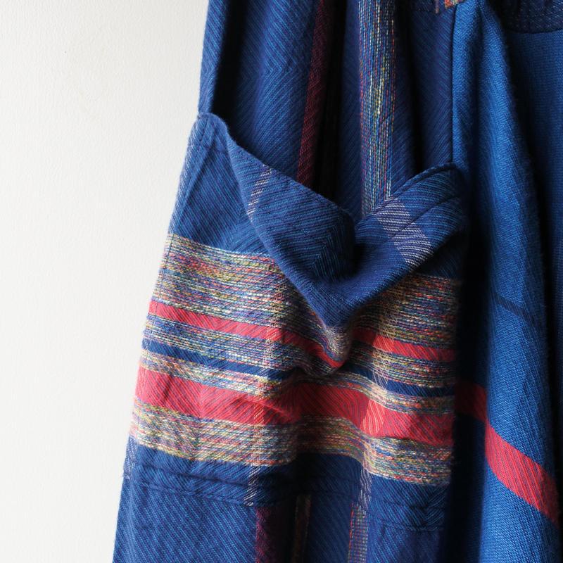 [tamaki niime] tarun pants-long TP-L-029