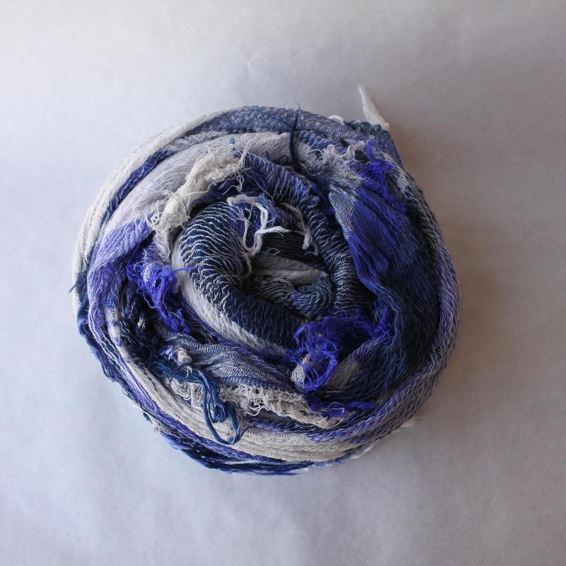 [tamaki niime] roots shawl-big RS-B-038