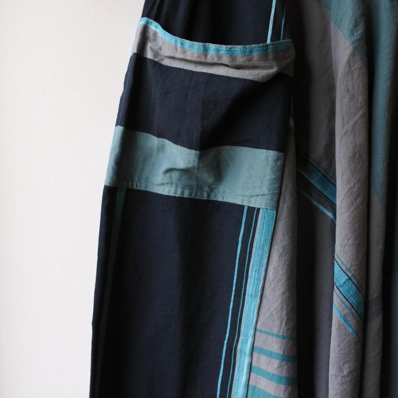 [tamaki niime] tarun pants-long TP-L-033