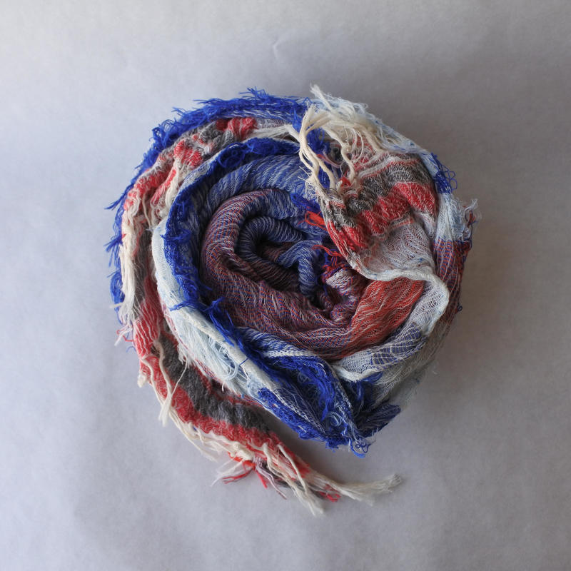 [tamaki niime] roots shawl-middle  RS-M-107