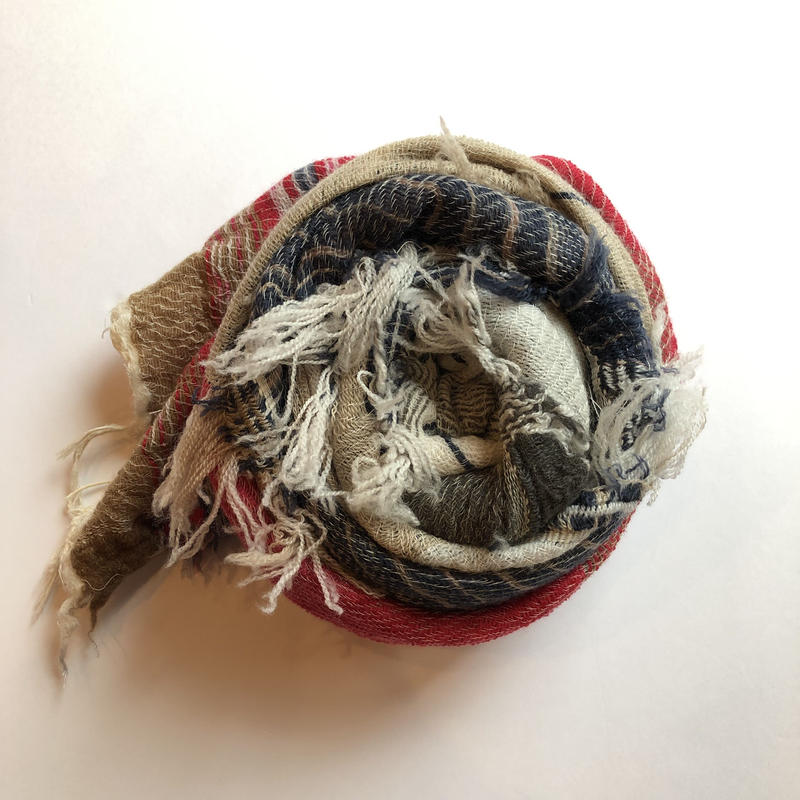 [tamaki niime] roots shawl-middle  RS-M-w003