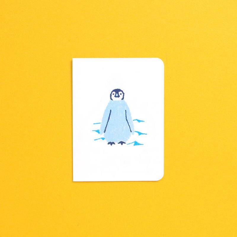 バースデーカード/ペンギン