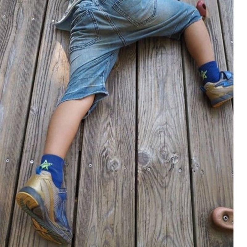 SOCKSTAR blue&yellow 19-21cm