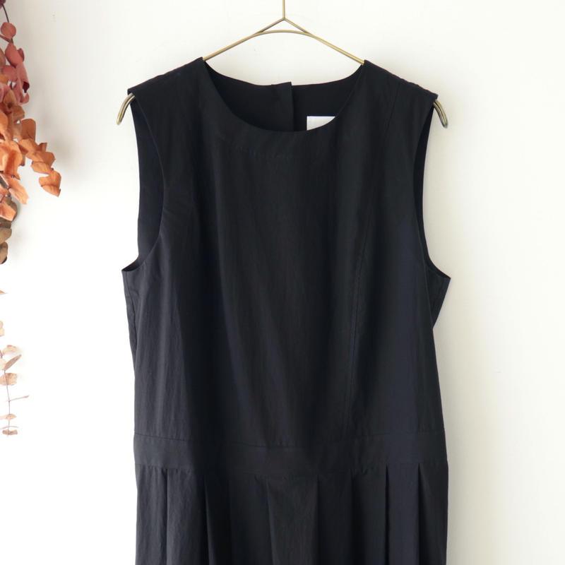 the last flower of the afternoon ザ ラスト フラワー オブ ジ アフタヌーン | 夏夜雨 sleeveless dress | ブラック