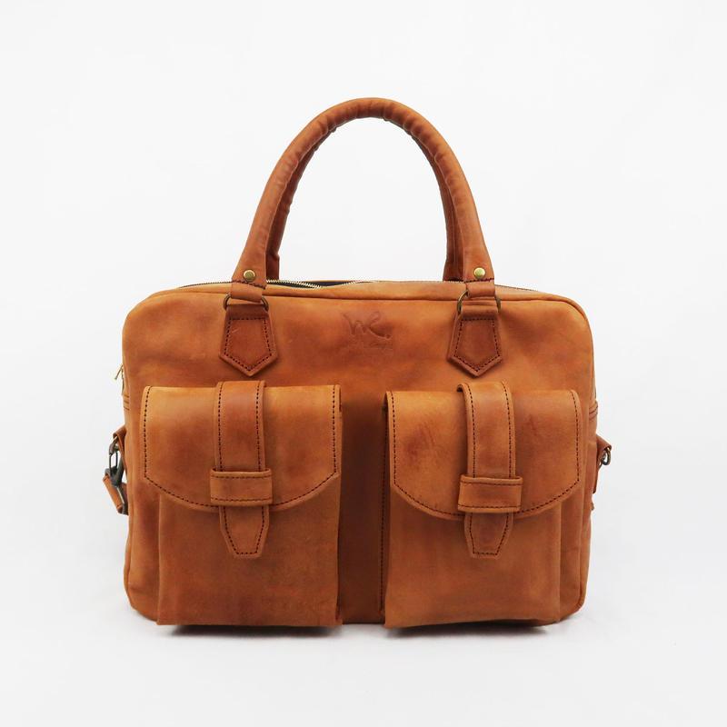 3WAY鞄/本牛革ビンテージオイルレザー