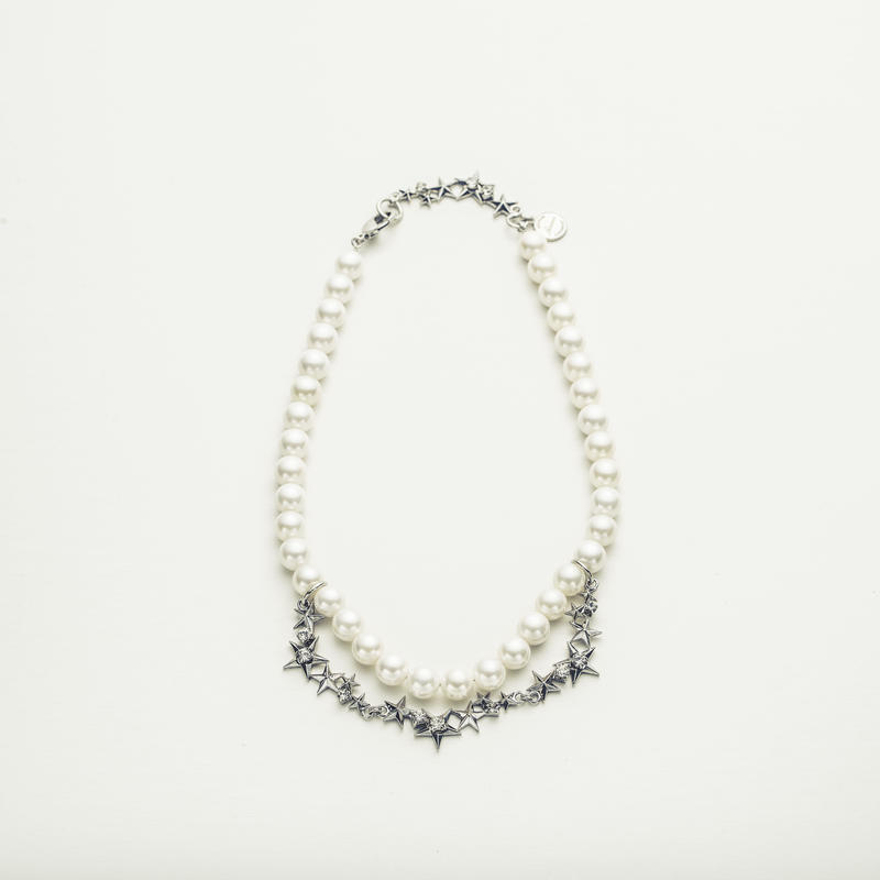 Star pearl necklace
