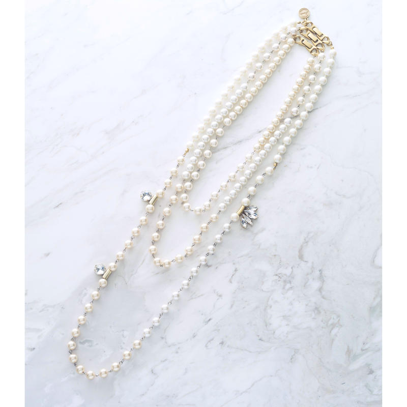 New shell pearl necklace (3Pset)