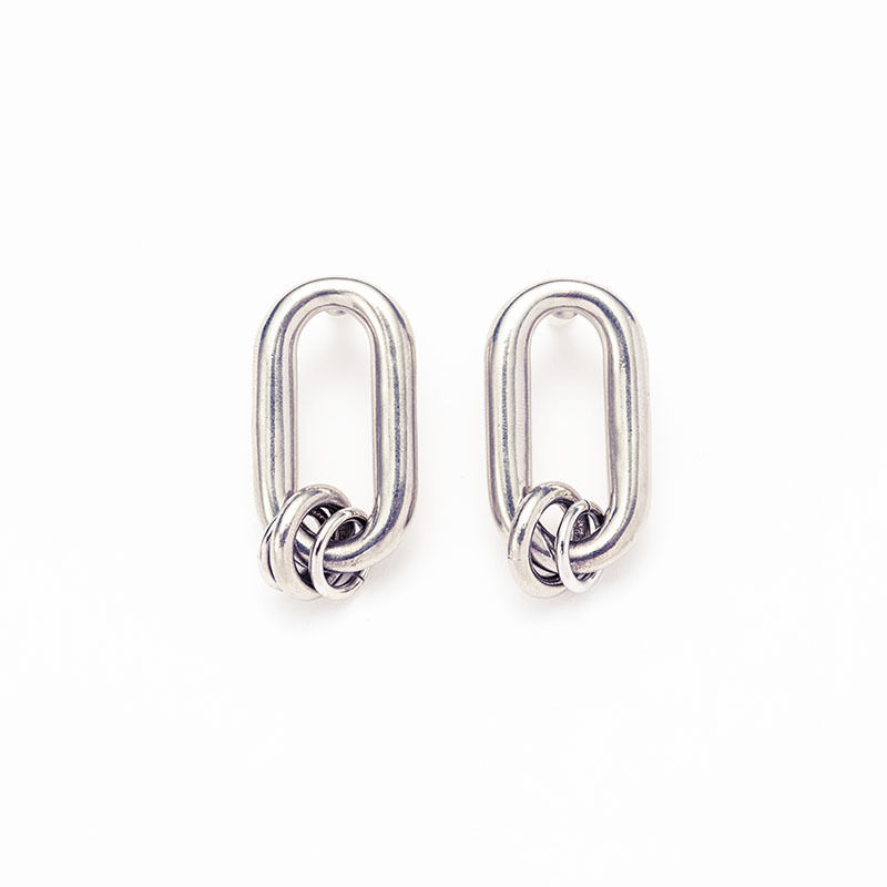 Old chain coil pierce[Unisex line]