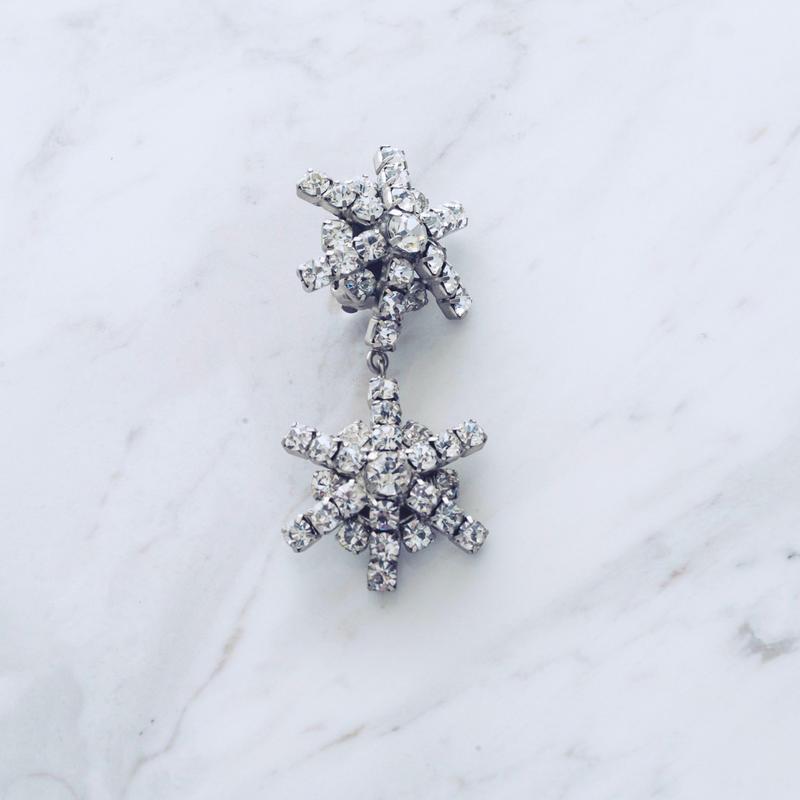 Snow single pierce / earing (1P)