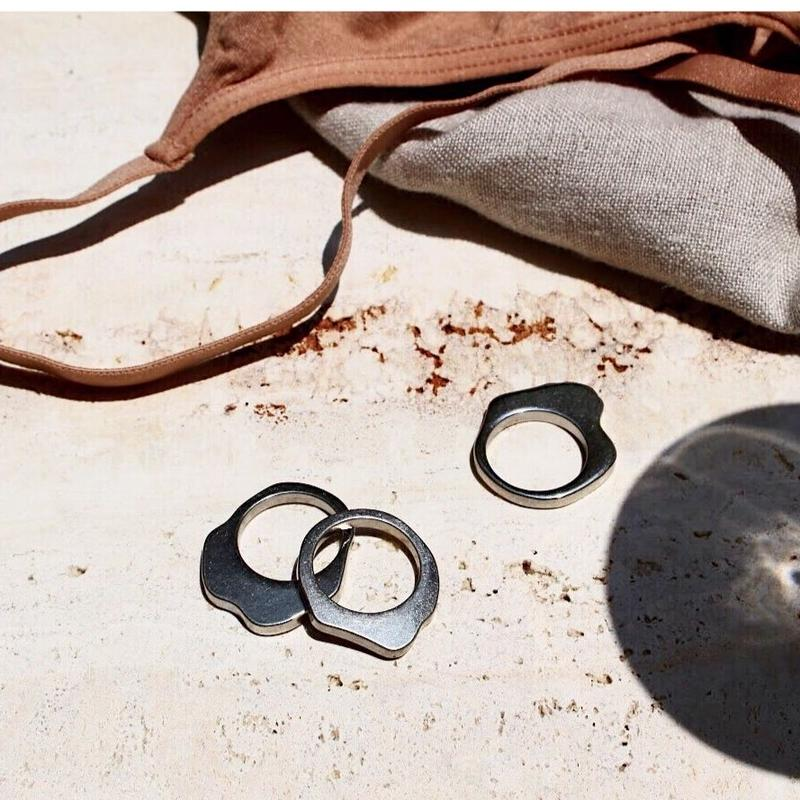 Polished ring (3set)