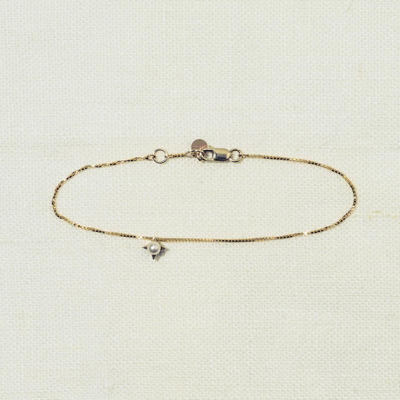 「Dresden」 1粒 pearl blacelet