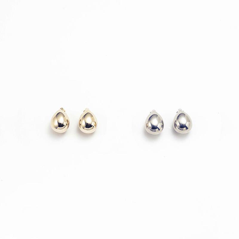 Metal stone earing (Drop)