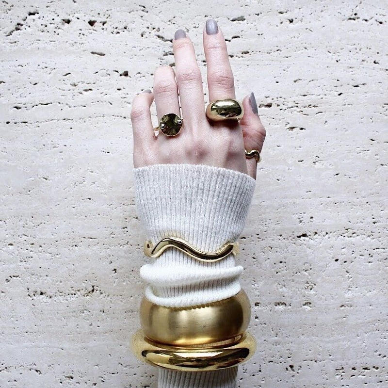 Ethical coin ring (Gloss)