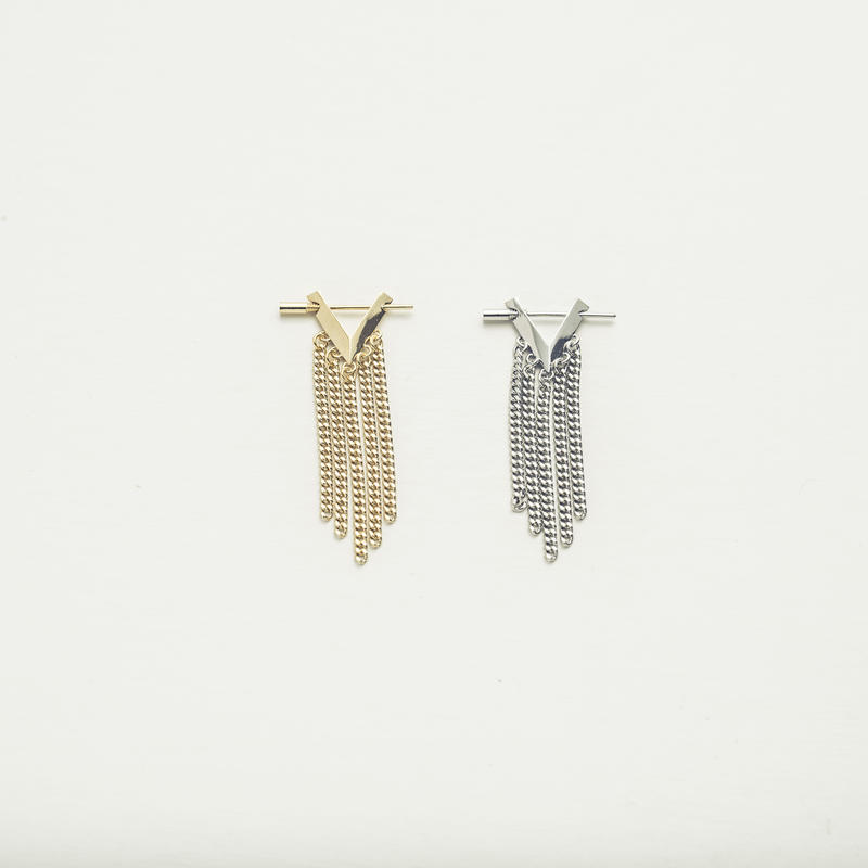 Geometric fringe pierce (1P/Short Type)
