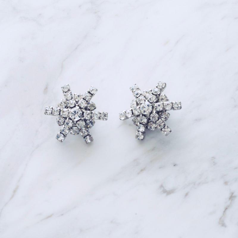 Snow pierce / earing (2P)