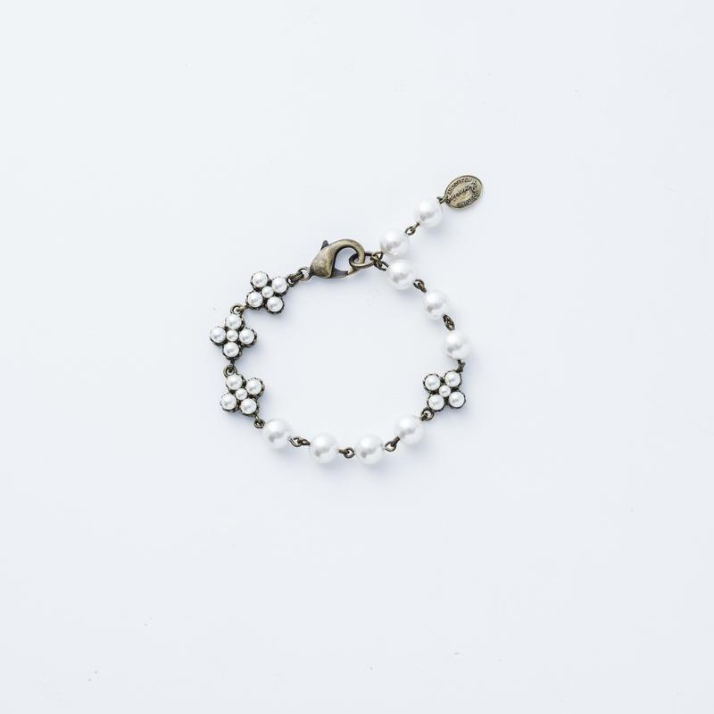 Victorian pearl  bracelet