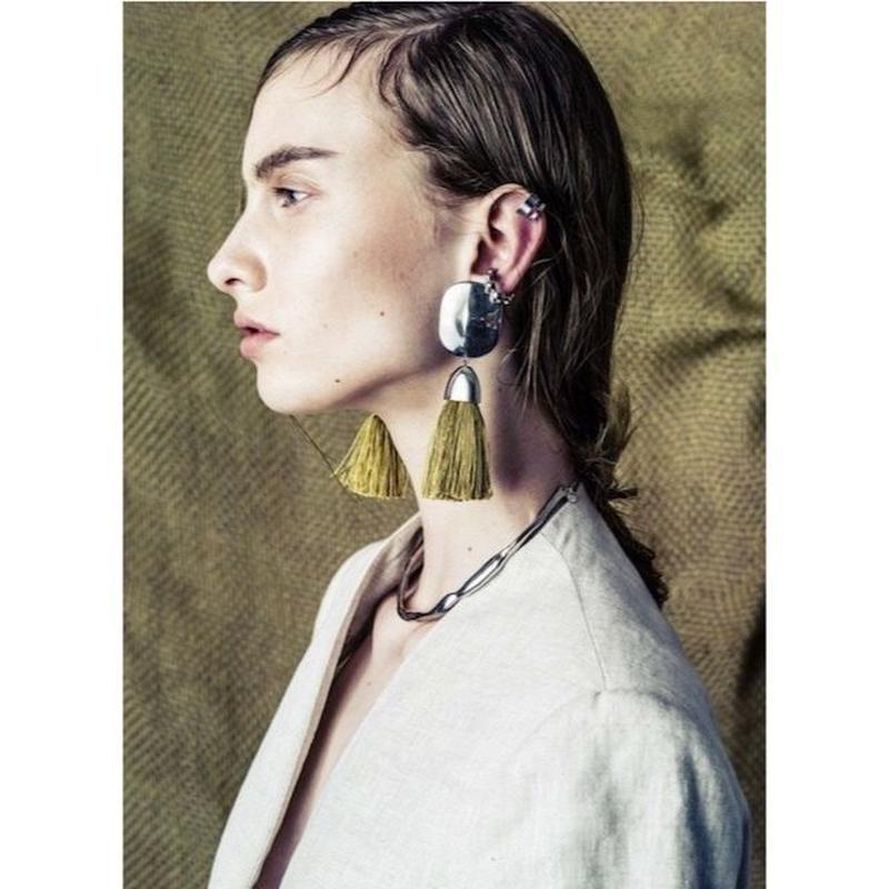 Tassel earing (Khaki)