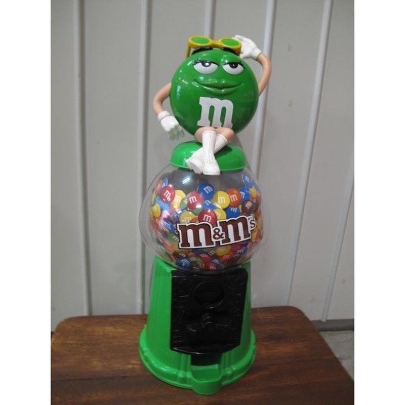 m&m'sグリーン チョコレートディスペンサー