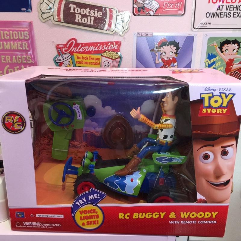 ディズニーピクサー トイストーリー RC BUGGY&WOODY WITH REMOTE CONTROL